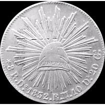 1832 8 Reales Durango