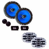 Quadriaxial 6x9 + Hurricane Woofer,tweeter E Crossover 6,5