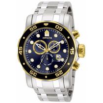 Reloj Invicta Hombre, Acero Inoxidable, Color Plateado