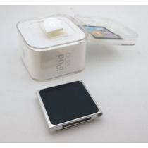 Ipod Nano 6 Geração 16gb Prata Caixa Rádio Mp3 - Usado