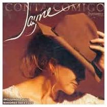Cd - Jayne: Conta Comigo(paradoxx Music)