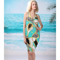 Pareo Vestido Sarong Cover-up Playa