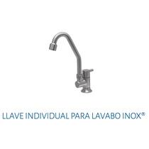 Llave Individual Para Lavabo Urrea 9060 Inox