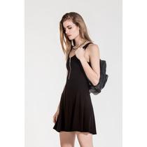 Vestido Taylor Negro Fiesta Verano 2016 Estancias Chiripa