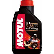 Óleo Motor Motul Moto 4tl 7100 20w50 Sintético 1lt