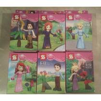 Mini Legos Simpson, Princesas, Pepa Pig, Dragon Ball