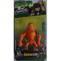 Brinquedo Boneco Ben 10 Ominiverse Besta Selvagem
