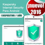 Licencia Kaspersky Internet Security Android Tablet Telefono