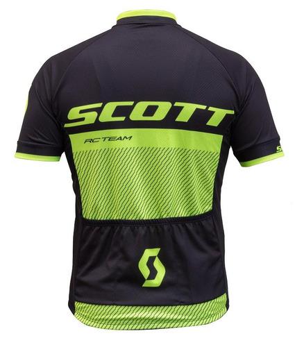 Camisa Scott Rc Team 20 2018 - Cores Pretaamarelo - R  194 b389467c3