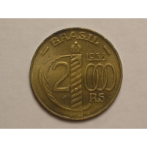 Flor) 2.000 Rs. 1938 - Caxias = Poligonal