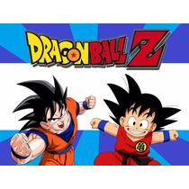 Kit Imprimible Dragon Ball Z Etiqueta Golosinas Invitaciones