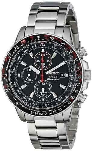 ceddbf141be Relógio Seiko Ssc007 Solar Sport Cronografo Alarme - R  2.427