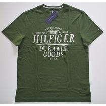 Camiseta Básica Tommy Hilfiger Tamanho P / S Nova Original