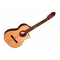 Guitarra Fonseca Electrocriolla Mod.41kec C/eq + Funda+capo