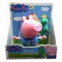 Muñeco Grande Peppa Pig George Y Dinosaurio - Mundo Manias
