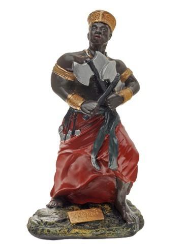 Imagem Xango Orixa 10cm Resina Estatua Sango Oba R 42 80 Em