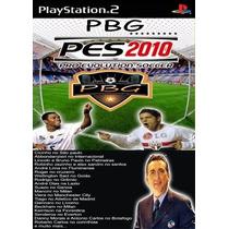 Patch Pes 2010 Narração Port Galvão Bueno Playstation2 Ps2