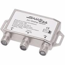 Kit C/ 4un Chave Diseqc 2x1 Chip Sce P/ 2 Antenas Diseqc 2.0