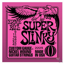 Cordas Ernie Ball P/ Guitarra - 009 - Original Made In Usa !