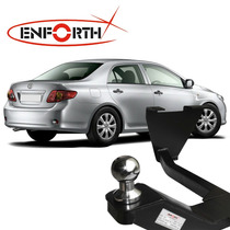 Engate Reboque Toyota Corolla 2009 A 2013 Cromado Enforth