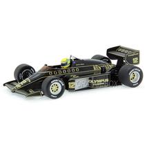 Fórmula 1 Lotus 97t 1985 Ayrton Senna 12 Minichamps 1:18