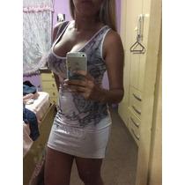 Vestido Labella Máfia Com Detalhe De Caveira Em Strass