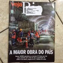 Revista Veja Rio 4/11/2015 A Maior Obra Do País Metrô Rj