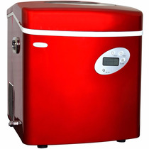 Fabrica De Hielo Newair Ai-215r Red Portable Ice Maker