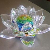 Flor De Lótus Cristal Boreal 7cm
