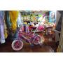 Bicicleta Para Nena Rodado 12 Con Barral