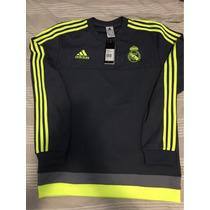 Buzo Adidas Real Madrid 16 Talle M Nuevo Con Etiquetas