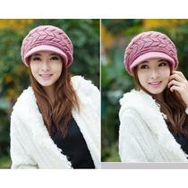 Chullos Beanie Importado Moda Coreana Mujer Damas