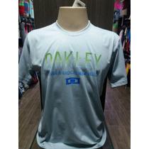 Camisa Camiseta Da Oakley Tam G #124