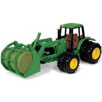 Ertl Tractores John Deere Con Bale Mover