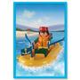 Playmobil Bote Con Motor Muñeco Y Accesorios Original Antex
