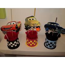 Centros De Mesa Personalizados Cars Rayo Avenger Toy Story