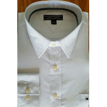 Camisa Importada Tommy Hilfiger-blanco-talle L