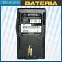Bateria Para Radio Portatil Motorola Visar Ntn7395a 1200mah
