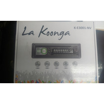 Reproductor Para Carro La Koonga K-e3001-nv Usb, Mp3, Cd..