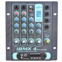 Mesa De Som Ibmx 4 Bluetooth /12v