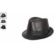 Sombrero Tipo Panameño, Borsalino, Semi Cuero - Unisex