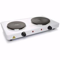 Cocina Electrica Doble Plato De 2000wts 220v. Hasta Agotar