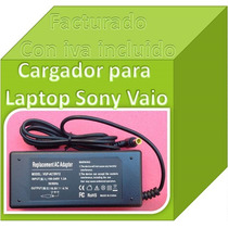 Cargador Compatible C/ Sony Vaio Pcga-ac19v10 19.5v 4.7a Fn4