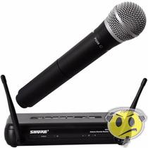Microfone Shure Sem Fio Svx24 Br - Pg 58 Loja Credenciada