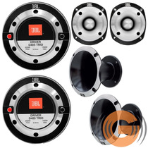 Kit 2 Driver D405 Trio + 2 Tweeter St400 Trio Jbl Selenium