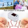 Dedos Led Pulso Oxímetro Arterial Oxígeno Spo2 Monitor De