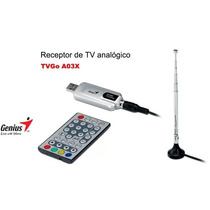 Tv Television En Tu Computadora: Usb Tv Receiver Genius