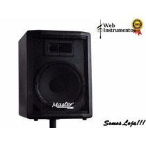 Kit Caixa Ativa250w+ Passiva250w Falantes 12 Master Áudio