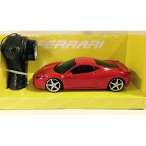 Carrinho De Controle Ferrari 458 Italia 1:24 Radio Contr