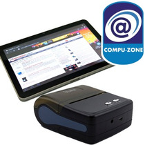 Kit Punto De Venta Tablet 10+impresora Bt+app+teclado+fund